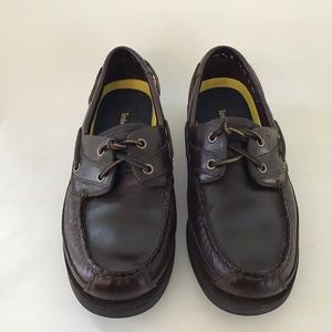 Timberland Mens Sz 8 1/2 M Boat Shoes